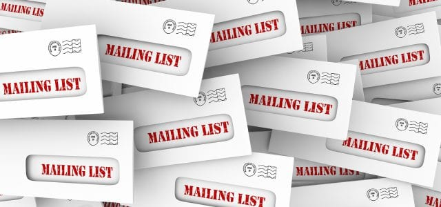 Mailing List Marketing Rental Customers Envelopes 3d Illustration