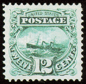 ss adriatic postage stamp from 1869